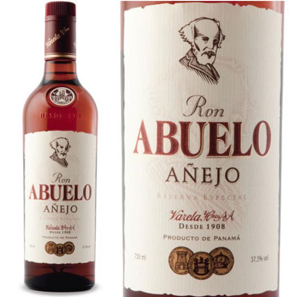 Ron Abuelo Anejo Rum 750ml