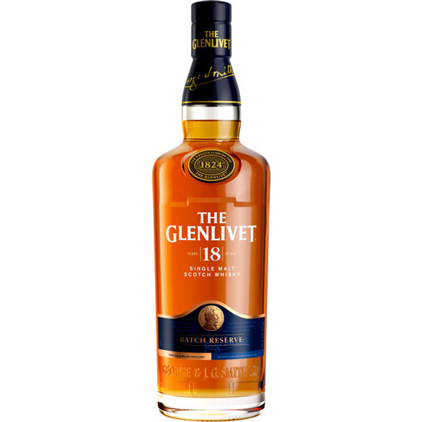 The Glenlivet 18 Year Old Speyside 750ml