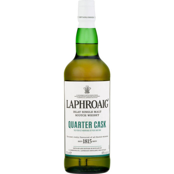 Laphroaig Quarter Cask Islay Single Malt Scotch 750ml