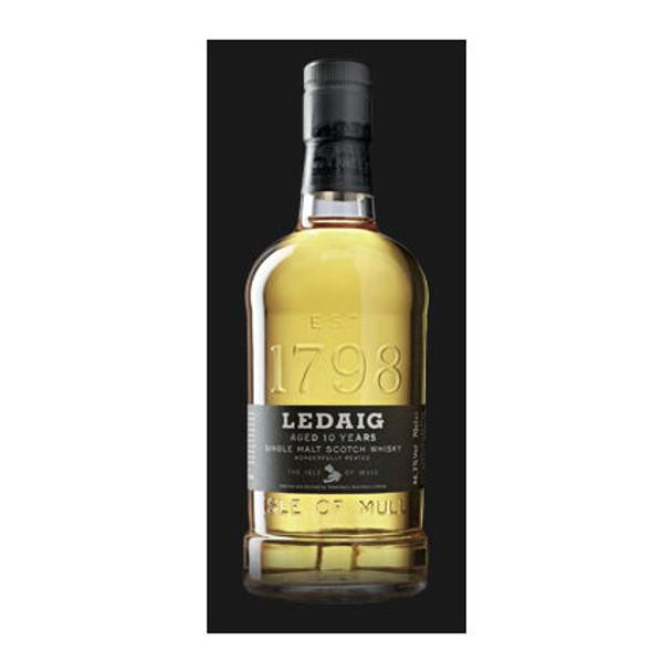 Ledaig 10 Year Old Isle of Mull Single Malt Scotch 750ml