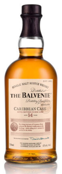 Balvenie 14 Year Old Caribbean Rum Cask 750ml