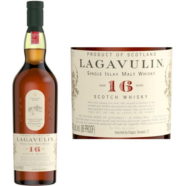 Lagavulin 16 Year Old Islay 750ml