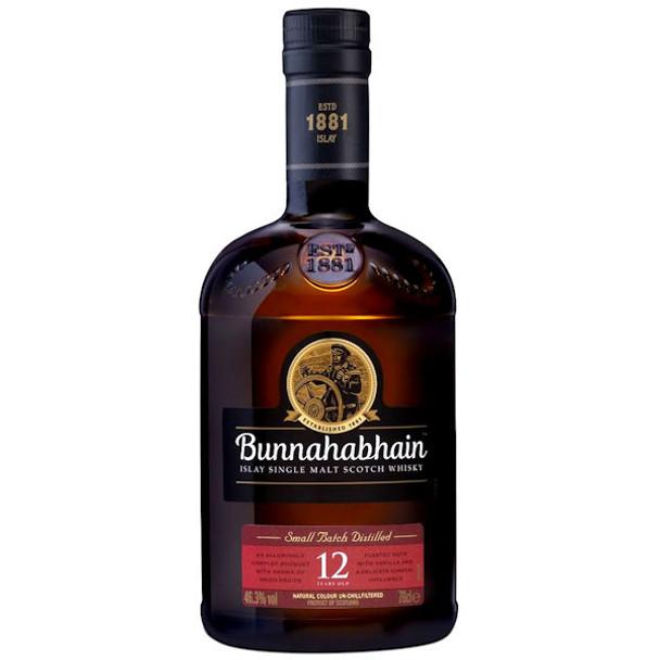 Bunnahabhain 12 Year Old Un-chillfiltered Islay Single Malt Scotch 750ml