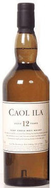 Caol Ila 12 Year Old Islay 750ml