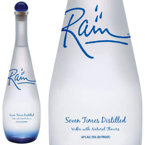 Rain Seven Times Distilled American Vodka 750ml