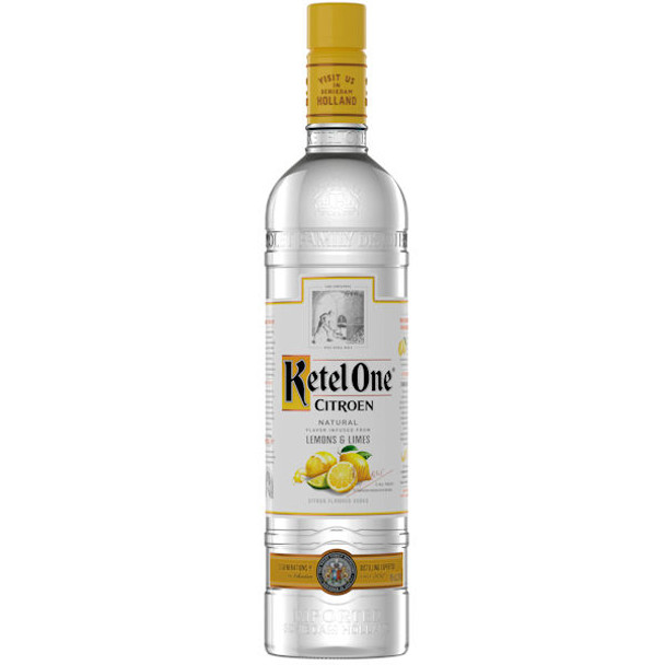 Ketel One Citroen Dutch Grain Vodka 750ml