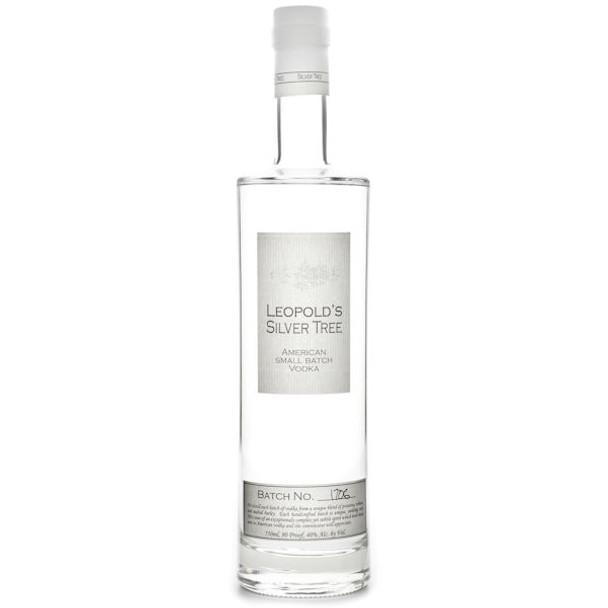 Leopold Bros Silver Tree American Small Batch Vodka 750ml