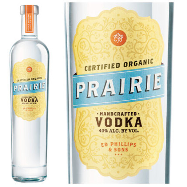 Prairie Organic Vodka 750ml