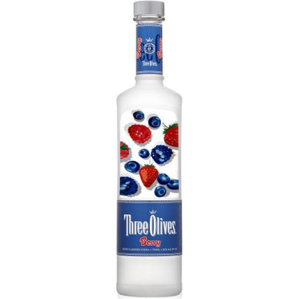 Three Olives Berry Vodka 750ml