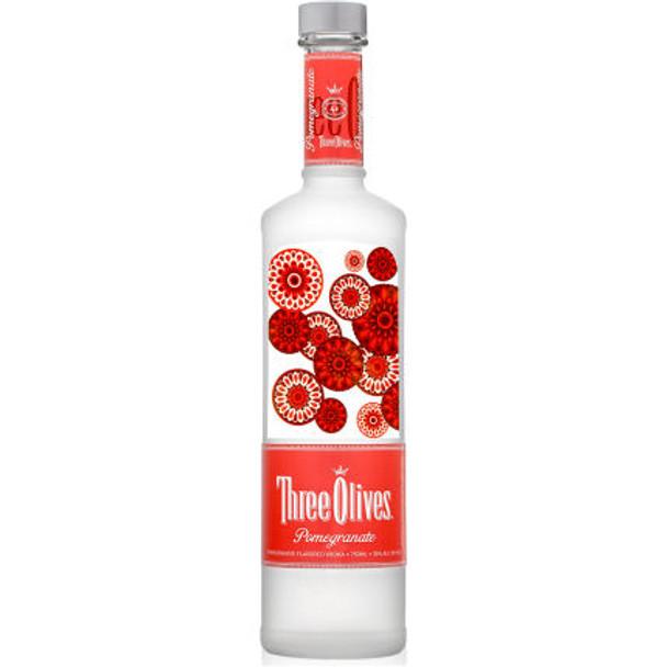 Three Olives Pomegranate Vodka 750ml