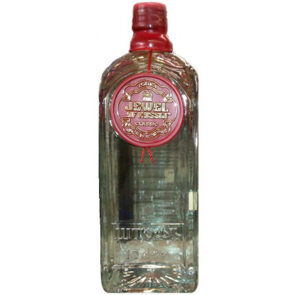 Jewel Of Russia Classic Wheat and Rye Vodka 1L