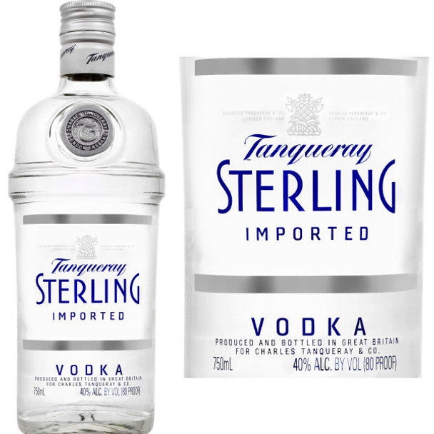 Tanqueray Sterling English Grain Vodka 750ml