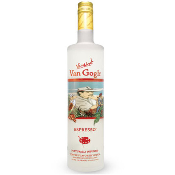 Van Gogh Espresso Vodka 750ml