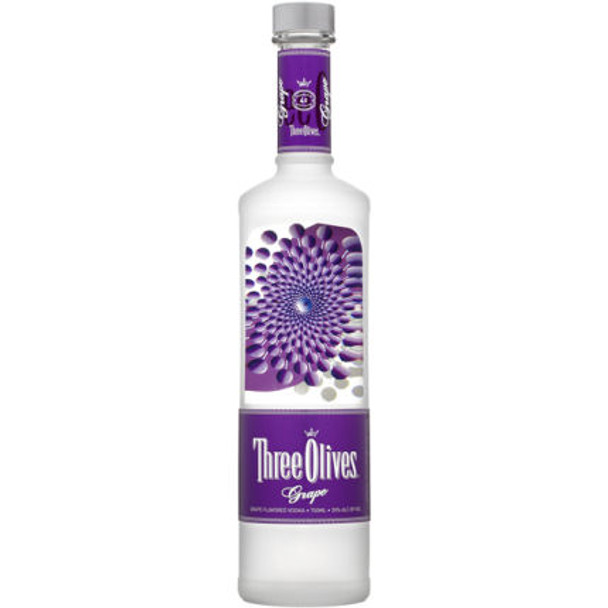 Three Olives Grape Vodka 750ml