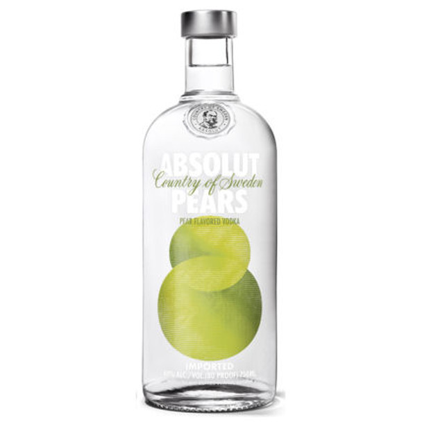 Absolut Pears Swedish Grain Vodka 750ml