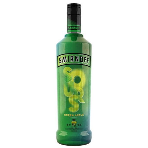 Smirnoff Sours Green Apple Vodka 750ml