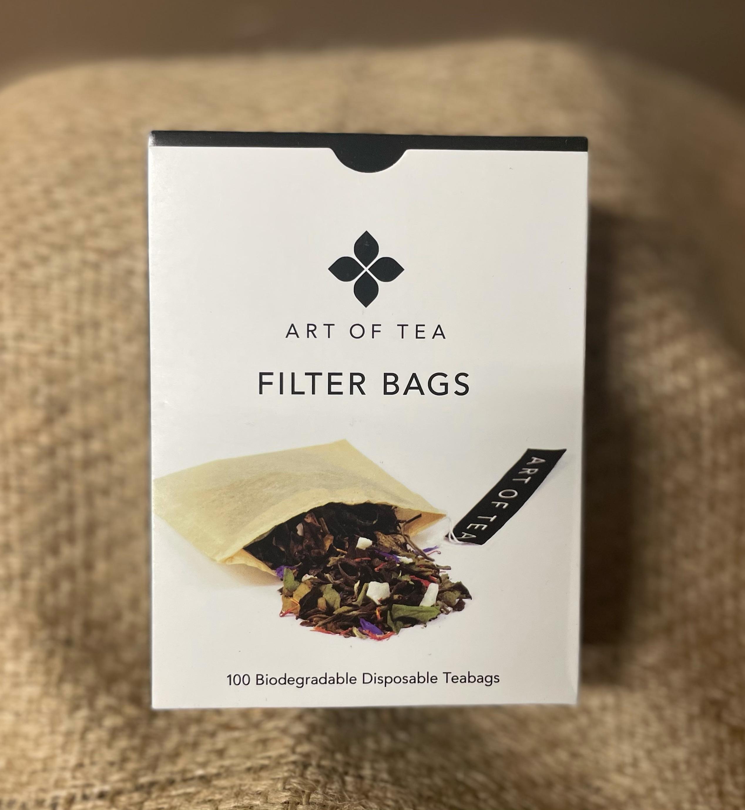 Biodegradable tea bags.  Box of 100