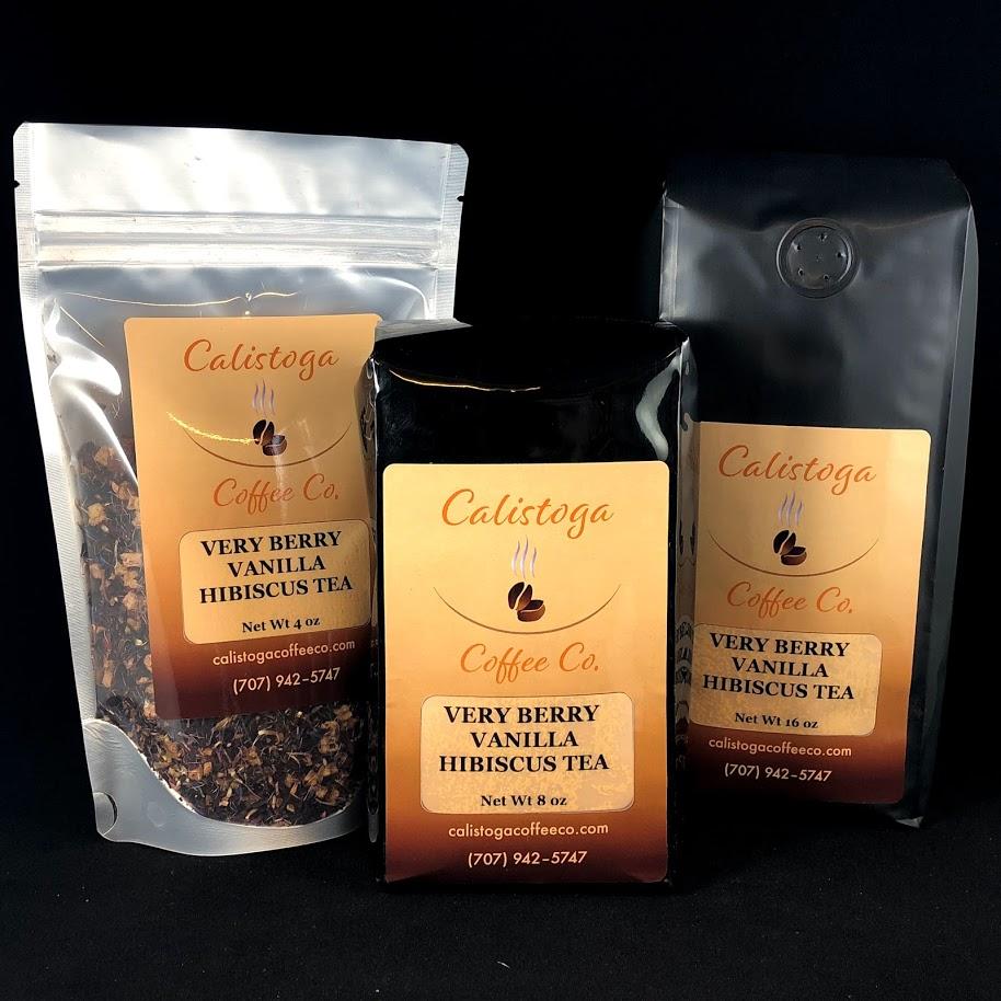 Berry Vanilla Hibiscus Tea