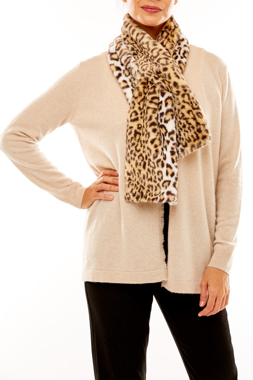 Luxe Pull-Through Faux Fur Scarf