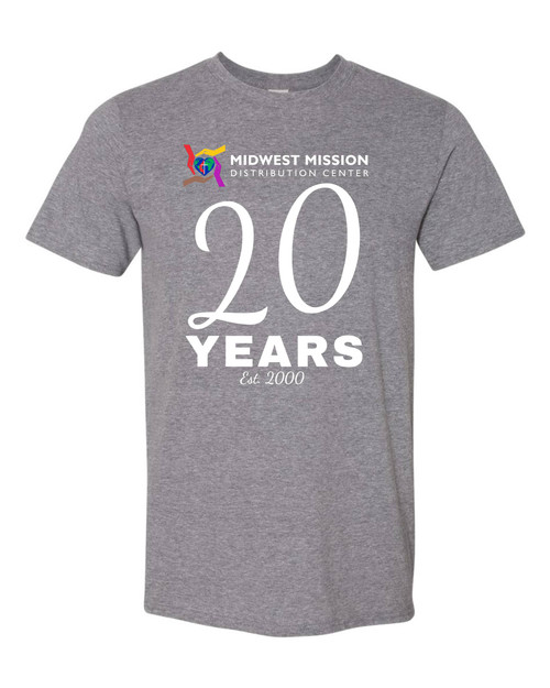 Midwest Mission 20 Year T-shirt
