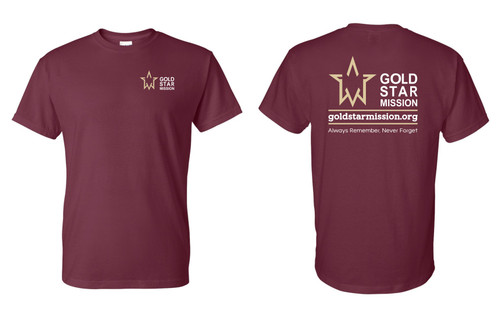 Gold Star Mission T-shirt