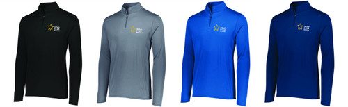 Gold Star Mission Attain Wicking 1/4 Zip Pullover