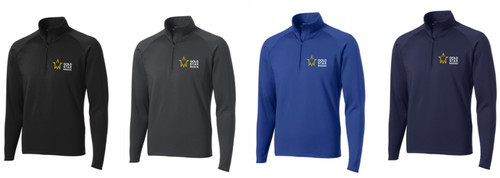 Gold Star Mission Sport-Tek Sport-Wick Stretch 1/2 Zip Pullover