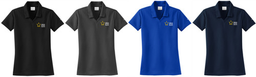 Gold Star Mission Ladies Nike Dri-Fit Micro Pique Polo
