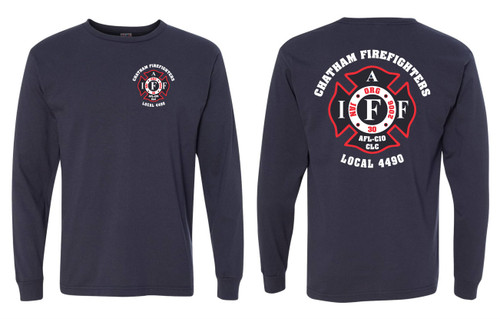 Chatham Firefighters Local 4490 USA Made Long Sleeve T-shirt
