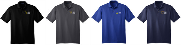 Gold Star Mission Performance Fine Jacquard Polo