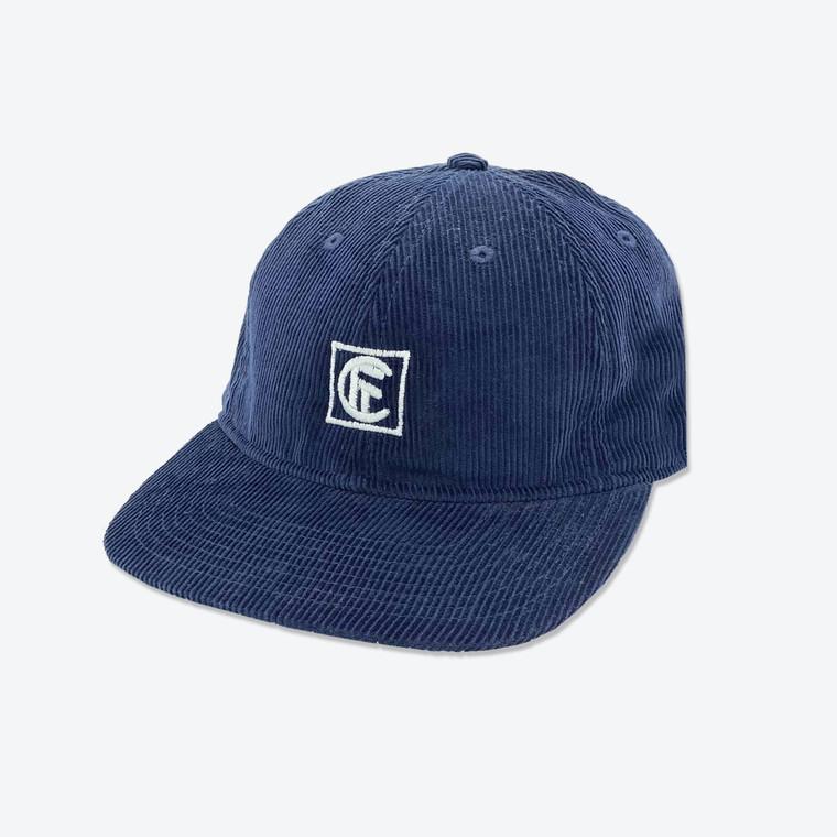ID Corduroy Hat - Navy