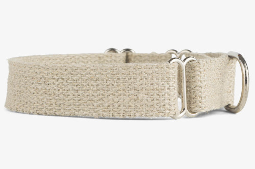 Hemp Martingale Dog Collar
