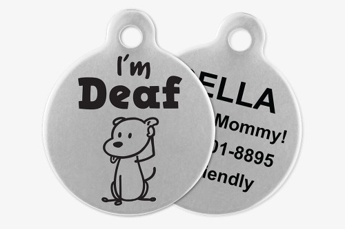 I'm Deaf - Stick Dog Pet Tag