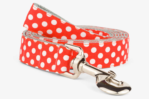 Clementine Dots Dog Leash