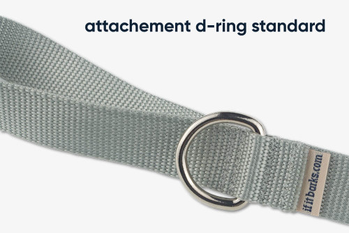Clementine Dots Fabric Dog Leash