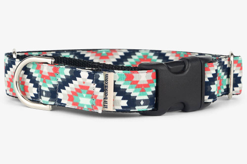 Inherit Shadow Patterned Fabric Martingale