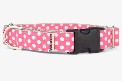 Blossom Dots Patterned Fabric Martingale