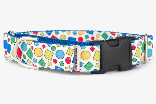 Geometric Colors Patterned Fabric Martingale