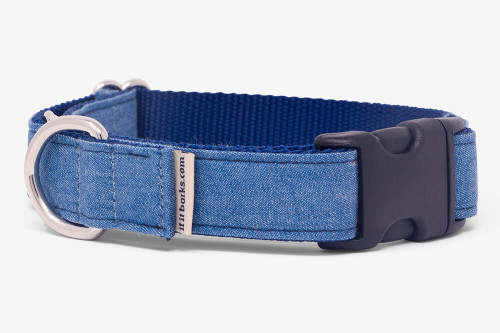Denim Blues Fabric Martingale