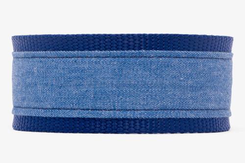 Denim Blues Fabric Martingale