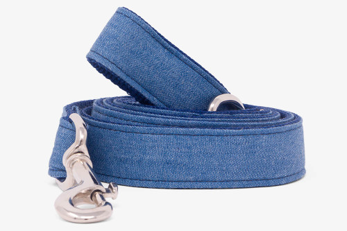 Denim Blues Dog Leash