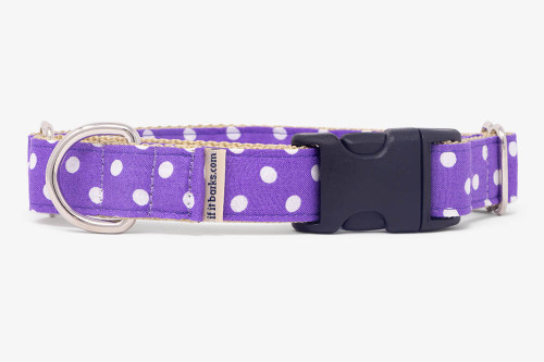 Purple Mini Dots Fabric Martingale