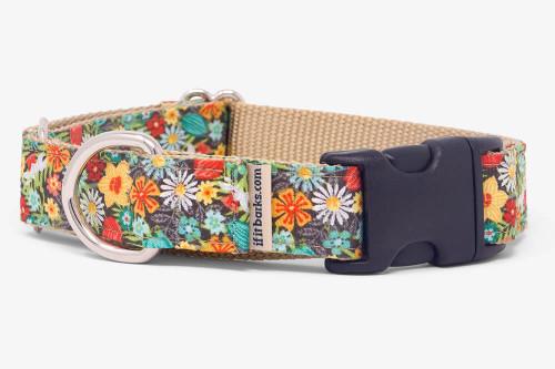 Flower Power Fabric Martingale