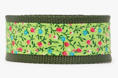 Lime Country Calicos Fabric Martingale