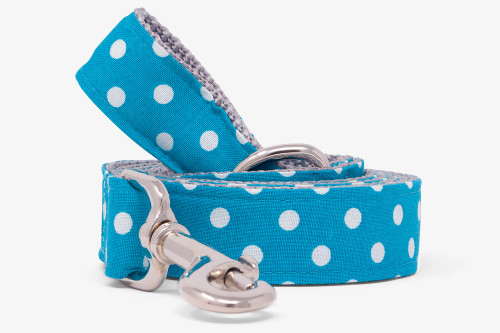 Marine Dots Dog Leash