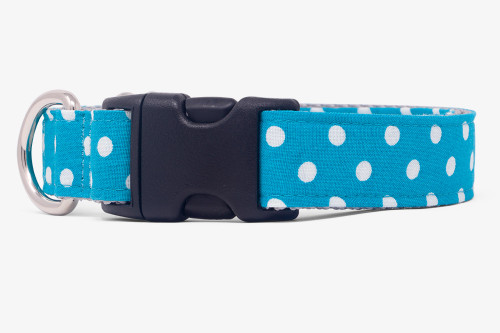 Marine Dots  Dog Collar