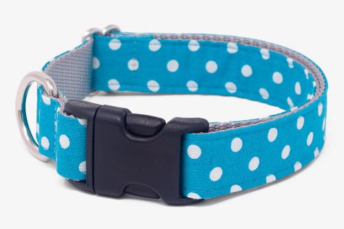 Marine Dots  Dog Collar