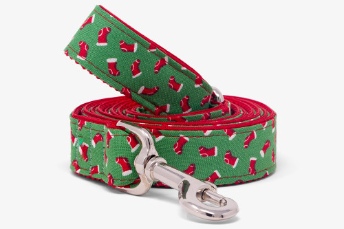 Candy Lane Stockings Dog Leash