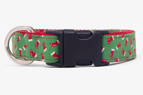 Candy Lane Stockings Dog Collar