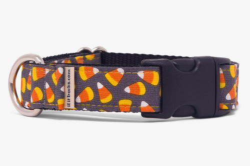 Spooky Candy Corn Fabric Martingale